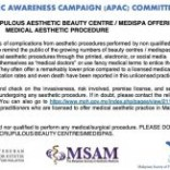 Beware of unscrupulous aesthetic beauty centre