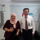 On air with Raifa Zulkifli